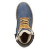Zimowe buty dziecięce zociepliną mini-b, niebieski, 496-9620 - 15