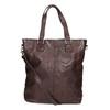 Brązowa skórzana torba bata, brązowy, 964-4245 - 16