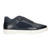 Skórzane trampki męskie bata, czarny, 846-6643 - 26