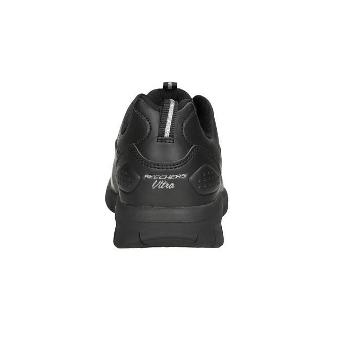 Czarne trampki damskie skechers, czarny, 501-6317 - 16