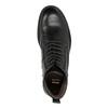 Skórzane buty męskie bata, czarny, 894-6695 - 15