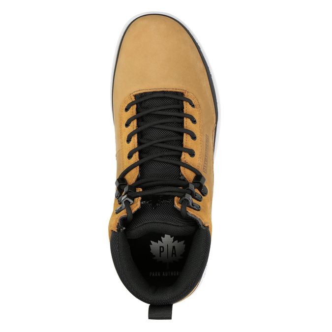 Męskie buty za kostkę k1x, brązowy, 806-3552 - 15