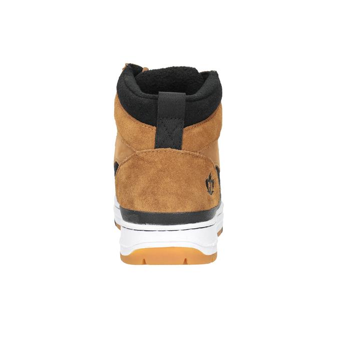 Skórzane buty męskie za kostkę, brązowy, 806-4552 - 16