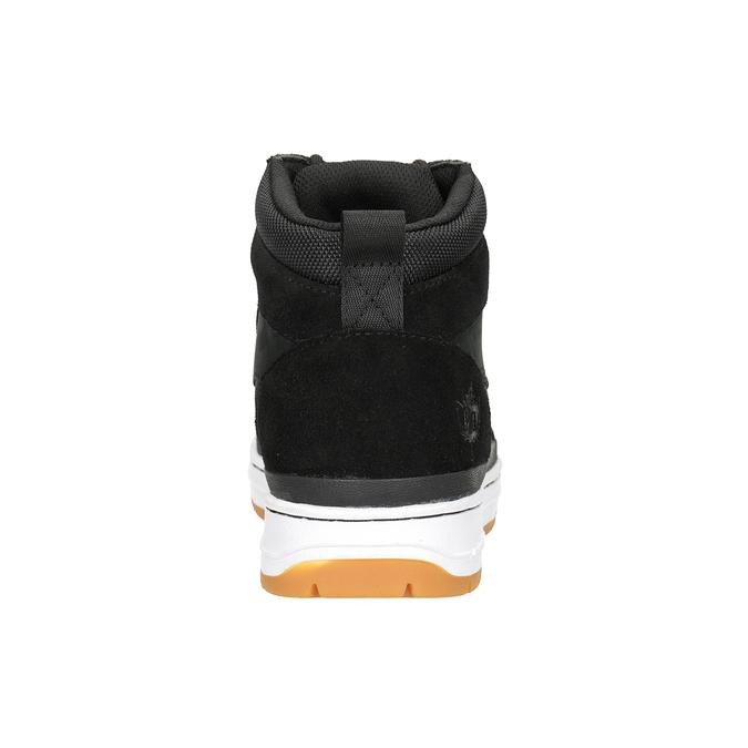 Skórzane obuwie męskie za kostkę k1x, czarny, 806-6552 - 16