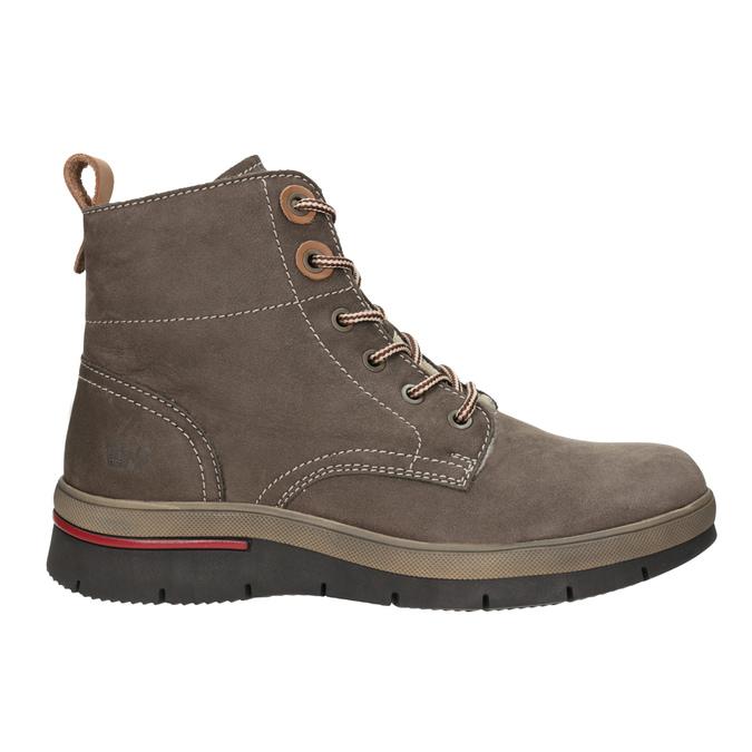 Zimowe buty damskie ze skóry weinbrenner, brązowy, 596-4666 - 26