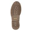 Obuwie męskie za kostkę, zfuterkiem weinbrenner, brązowy, 896-4670 - 17