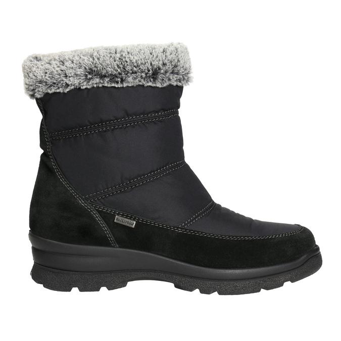 Damskie śniegowce na zimę, czarny, 599-6618 - 15