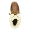 Obuwie męskie za kostkę, zfuterkiem weinbrenner, brązowy, 896-4670 - 15