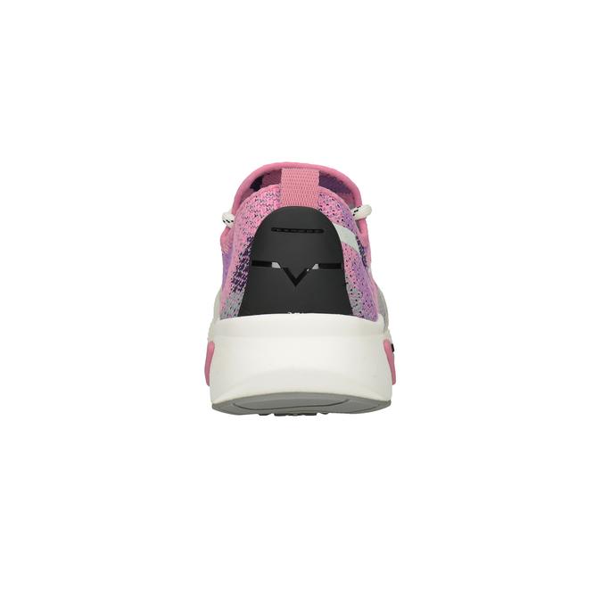 Różowe sportowe trampki diesel, różowy, 509-5760 - 15