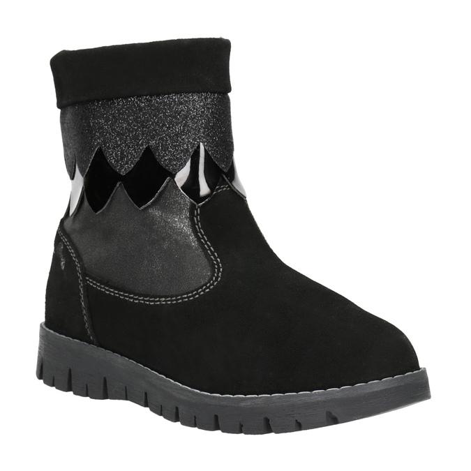 Zimowe buty dziecięce primigi, czarny, 423-6005 - 13