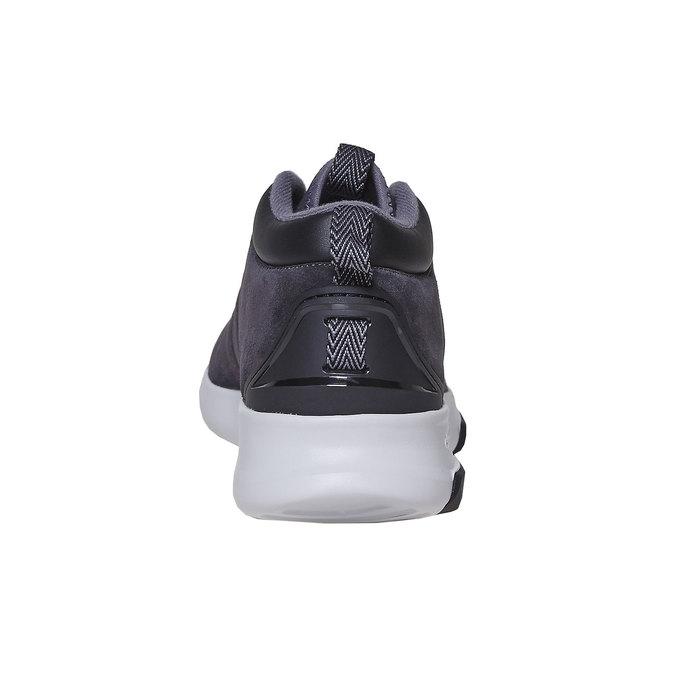 Skórzane trampki męskie adidas, czarny, 803-6202 - 17