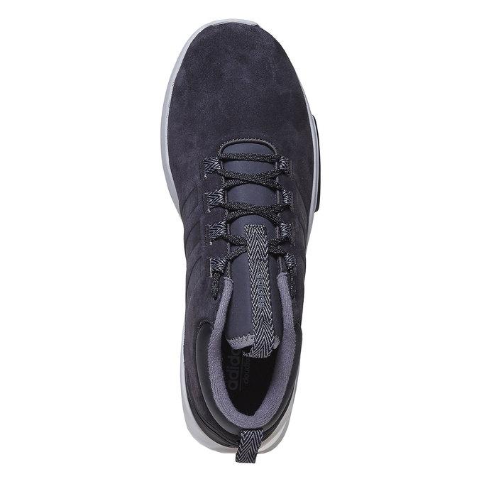 Skórzane trampki męskie adidas, czarny, 803-6202 - 19