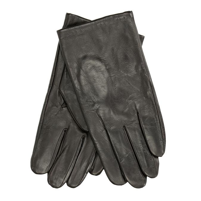 Brązowe skórzane rękawiczki bata, brązowy, 904-4130 - 13