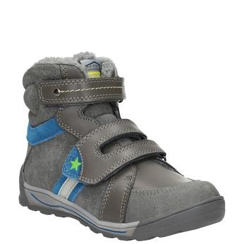 Zimowe buty dziecięce mini-b, szary, 291-2627 - 13
