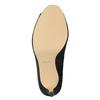 Czółenka zotwartymi noskami bata, czarny, 729-6610 - 17
