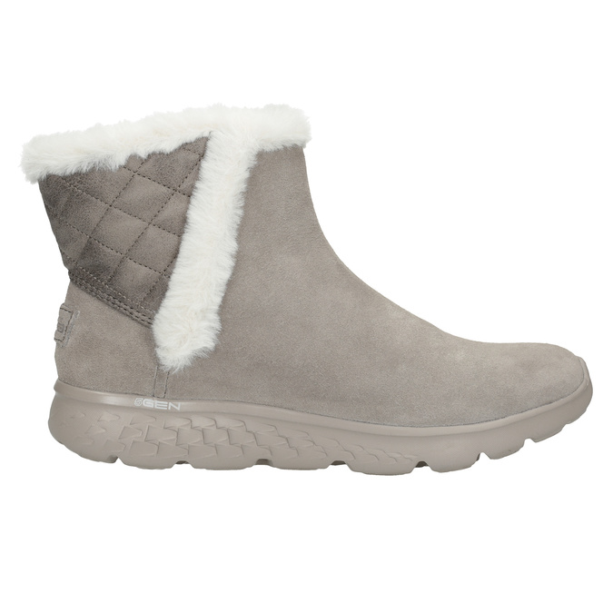 Zamszowe obuwie damskie skechers, 503-3326 - 16