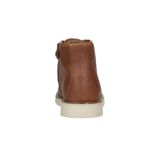 Skórzane botki dziecięce primigi, brązowy, 314-3004 - 15