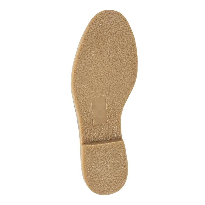 Zimowe buty damskie zfuterkiem bata, brązowy, 593-4607 - 17