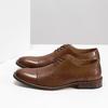 Brązowe skórzane półbuty typu angielki bata, brązowy, 826-3812 - 16