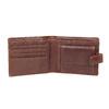 Skórzany pasek iportfel wzestawie upominkowym bata, brązowy, 954-3201 - 15
