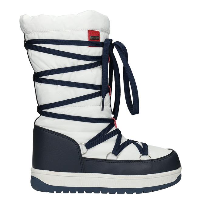 Damskie śniegowce na zimę bata, biały, 599-1616 - 15