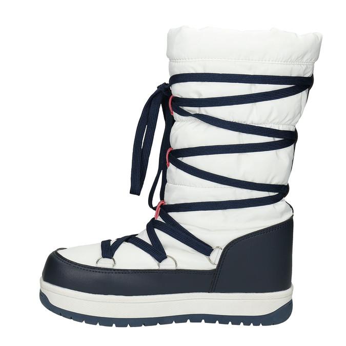 Damskie śniegowce na zimę bata, biały, 599-1616 - 26