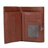 Skórzany portfel damski bata, brązowy, 944-4189 - 15
