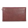 Skórzana kopertówka zprzeszyciami bata, czerwony, 966-5285 - 16