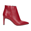 Czerwone skórzane botki bata, czerwony, 794-5651 - 16