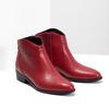 Czerwone botki bata, czerwony, 594-5665 - 26