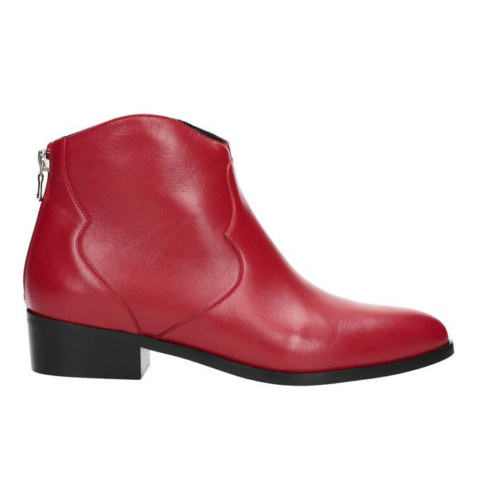 Czerwone botki bata, czerwony, 594-5665 - 16