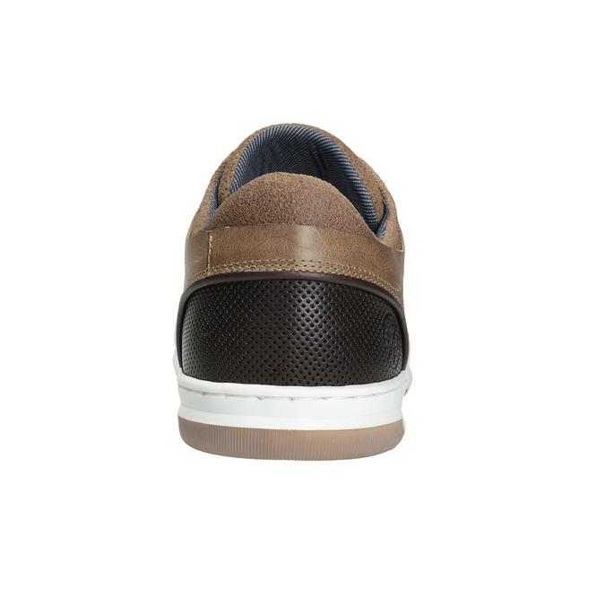 Skórzane trampki męskie bata, 846-8927 - 16