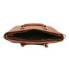 Brązowa torba zodpinanym paskiem bata, brązowy, 961-3845 - 15