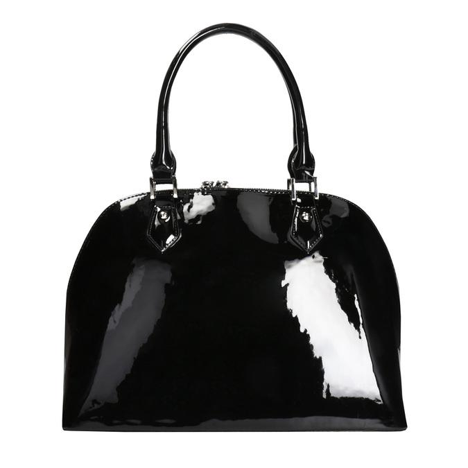 Czarna lakierowana torebka bata, czarny, 961-6849 - 26