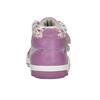 Trampki dziecięce za kostkę zwzorzystymi mankietami bubblegummer, fioletowy, 121-9618 - 16