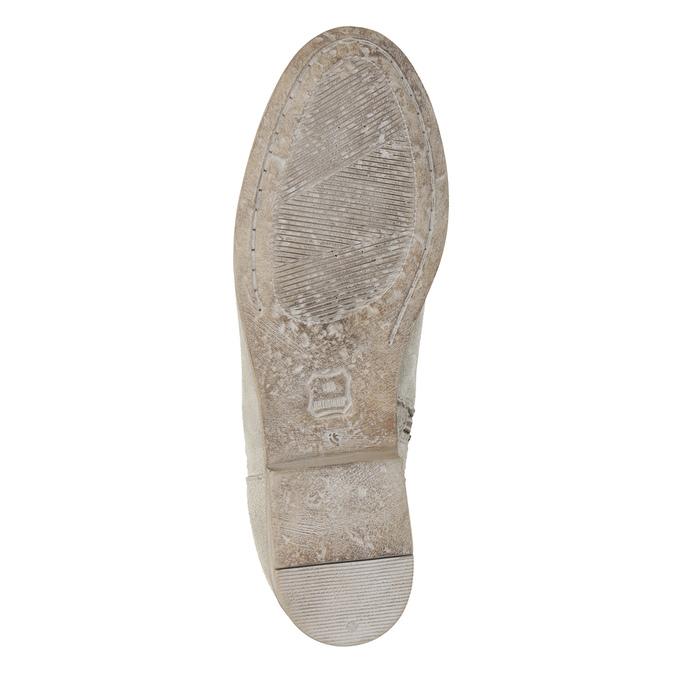 Kozaki zhaftem ikryształkami bata, szary, 596-2687 - 19