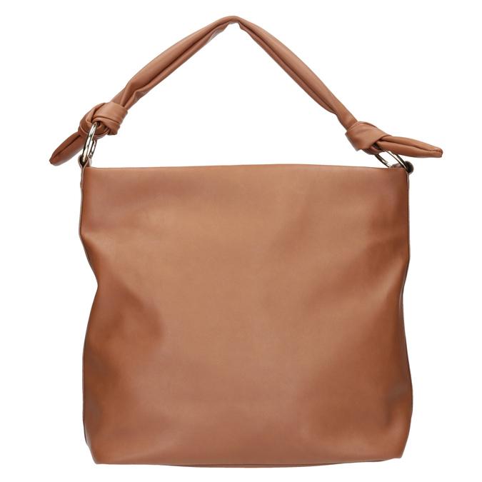 Brązowa torba damska wstylu hobo bata, brązowy, 961-3843 - 16