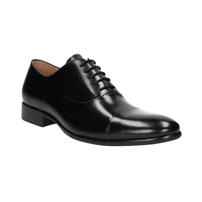 Czarne skórzane półbuty typu oksfordy bata, czarny, 824-6626 - 13