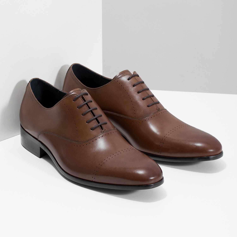 8ea202a4 ... Brązowe skórzane półbuty typu oksfordy bata, brązowy, 826-3852 - 26 ...