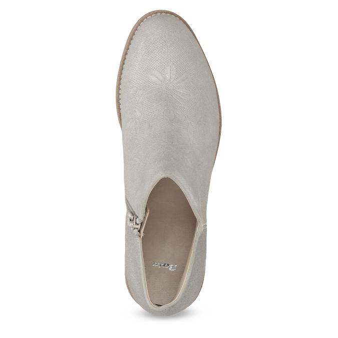 Botki damskie bata, szary, 596-2685 - 17