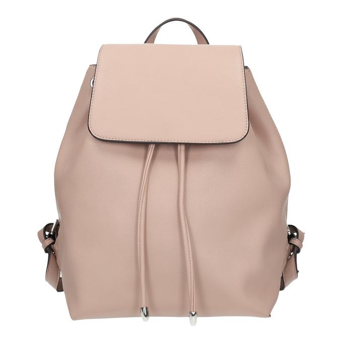 Cielisty plecak damski bata, różowy, 961-9858 - 26