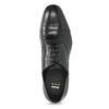Czarne skórzane półbuty typu oksfordy bata, czarny, 824-6944 - 17