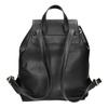 Czarny plecak ze sznurkiem bata, czarny, 961-6858 - 16
