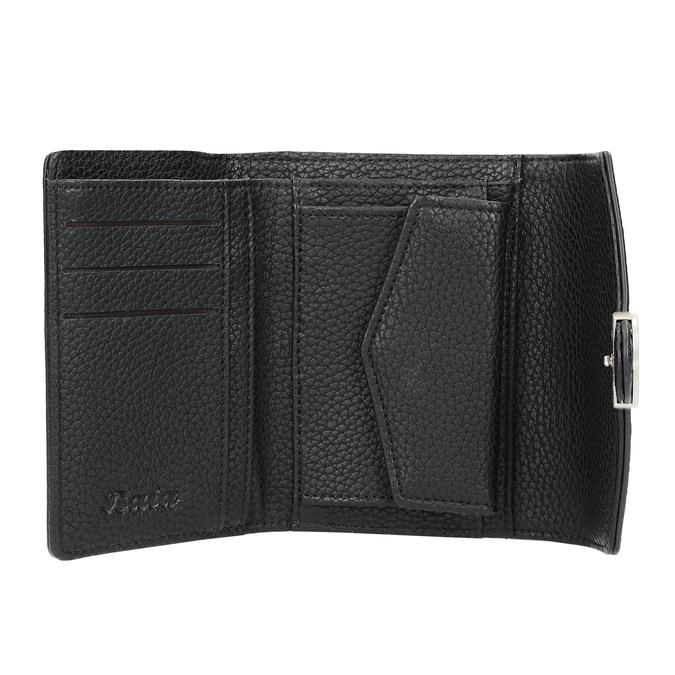 Czarny portfel damski bata, czarny, 941-6213 - 15
