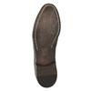 Półbuty typu oksfordy, wykonane wcałości ze skóry bata, brązowy, 826-4826 - 19