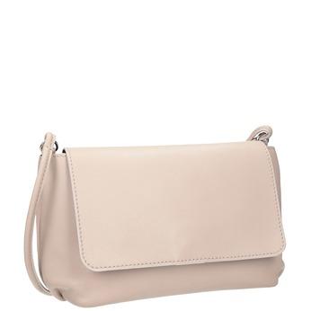 Kremowa skórzana torebka bata, różowy, 964-9291 - 13