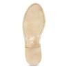 Skórzane półbuty damskie wnieformalnym stylu bata, brązowy, 526-4652 - 18