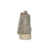 Skórzane botki zmetalowymi ćwiekami bata, szary, 596-2690 - 15
