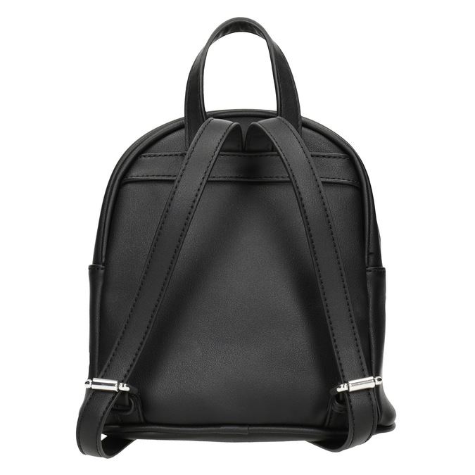 Czarny plecak zaplikacjami bata, czarny, 961-6264 - 16