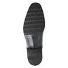 Czarne skórzane półbuty typu angielki bata, czarny, 824-6981 - 17